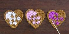 My Heart, Valentines Day, Crochet Hearts, Diy Crafts, Knitting, Stitches, Holidays, Jewelry, Decor
