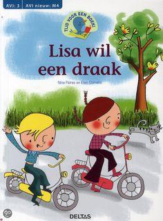 Tijd voor een boek! Lisa wil een draak