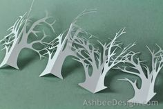 Fall is passing in New England. The trees have lost nearly all their leaves. Seasons change in Ledge Village too! I have designed a cutting ...