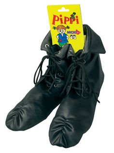 Simple and soft Pippi Longstocking boots... an diy idea.