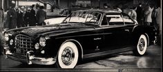 1954-55 Chrysler Ghia ST Special - Flat Tires and Engine Misfires | Chrysler Ghia Cars from the 1950s