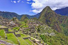 Machu Picchu via MuralsYourWay.com