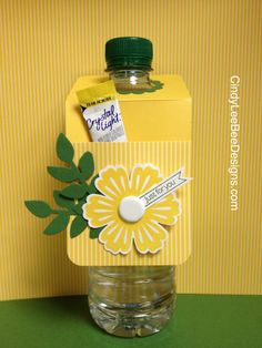 SU Mixed Bunch Water Bottle: cute for a favor idea or added touch to a goody bag, bottled water