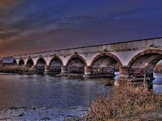 Hortobágy National Park (pr. hor-toe-bad) the Ninehole Bridge #Hungary