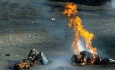 This is Holocaust.... Small Palestinian children burning to death, following the phosphor explosives bombardment by Zionist (they are a shame to Judaism so I can't call them Jews) soldiers at their school. This saddens me, when you see the whole unbiased truth you don't smile anymore