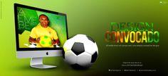 AEMEBE design | inspiração | arte by André AEMEBE, via Behance  #AEmeBe entra em campo com uma seleção campeã de #designs issuu.com/aemebedesign facebook.com/aemebemagazine DESIGN CONVOCADO . AEMEBE edição 54 já está em campo.  #graphicDesign . #soccer . #cup . #copaDoMundo . #WorldCup2014 . #futebol . #designGráfico