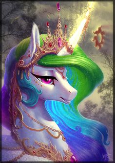 Princess Celestia by begasuslu