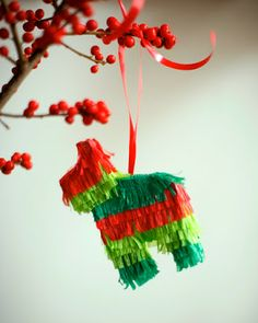 the little house in the city: DIY Pinata Ornament