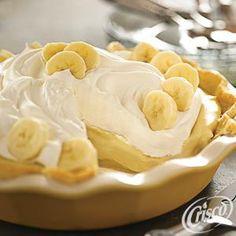 Banana Cream Pie from Crisco®