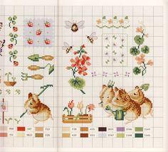 Gallery.ru / Фото #43 - Veronique Enginger. Le monde de Beatrix Potter - CrossStich