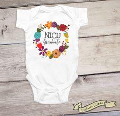 NICU Graduate Baby Onesie®, Miracle Baby,  Little Miracle, Nursery Grad, Premie Onesie®, NICU onesie® by StylishLittles on Etsy https://www.etsy.com/listing/478481312/nicu-graduate-baby-onesie-miracle-baby