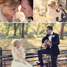 Vintage Engagement Photos in New York City...amazing!