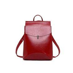SIENA PIROS NŐI HÁTIZSÁK 2 Siena, Leather Backpack, Backpacks, Bags, Fashion, Handbags, Moda, Leather Backpacks, Fashion Styles