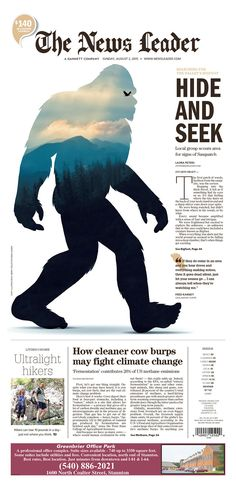 The News Leader (Staunton, Va.) for Aug. 2, 2015, via Poynter #newsdesign #newspapers