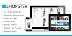 Shopster - Themeforest Retina Responsive WooCommerce Theme » THEMELOCK.COM -