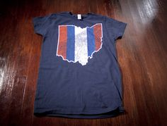 Hey, I found this really awesome Etsy listing at https://www.etsy.com/listing/129318478/cleveland-map-indians-baseball-ladies-t