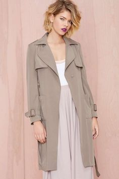 Let It Reign Trench Coat - Coats | Fall Of The Wild