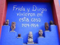 casa azul frida kahlo | Casa Azul (maison de Frida Kahlo) - Photo de 1. La Ciudad de Mexico ...
