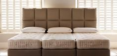Vi Spring Mattresses are available from And So To Bed. Come into our showrooms and be advised as to which tension, soft, medium or firm best suits you.