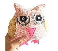 Pink Mintchi Owl - Sleepy SML