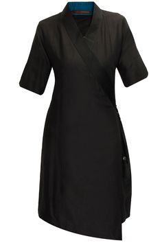 Black wrap tunic available only at Pernia's Pop-Up Shop.