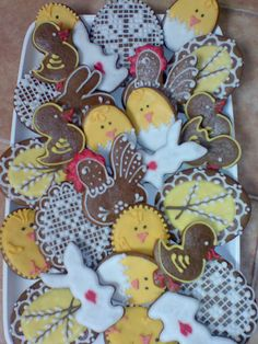 Perníčky zdobené - Velikonoce