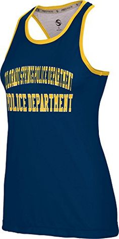 Womens Colorado Springs Police Department GovFirePolice Crisscross Loose Training Tank ** More info could be found at the image url.  This link participates in Amazon Service LLC Associates Program, a program designed to let participant earn advertising fees by advertising and linking to Amazon.com.