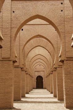 Mosquée de Tinmel, Maroc.  bycourregesg.
