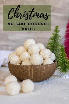 Easy Coconut Balls Recipe, Coconut Truffles, Coconut Desserts, No Bake Desserts, Coconut Sweetened Condensed Milk, 2 Ingredient Recipes, Tasty, Yummy Food, Special Recipes