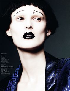 Marie Piovesan - You're Beautyful - Interview Germany May 2013 Ben Hassett  www.benhassett.com via ww.benhassett.com  for #makeup