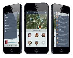 Teamride - Google Glass App on Behance