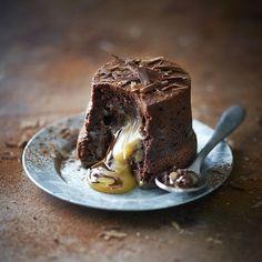 Chocolate & Salted Caramel Fondant Puddings