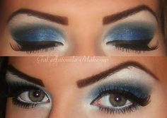 Dramatic Blue Make-up http://www.makeupbee.com/look.php?look_id=71155