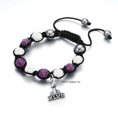 Ravens Super Bowl XLVII Fan Bracelet