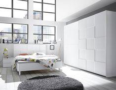 Armoire design blanc laqué LAVINA Room Design Bedroom, Home Room Design, Home Decor Bedroom, Bedroom Colour Schemes Neutral, Bedroom Colors, Armoire Design, Wall Shelf Decor, Stylish Bedroom, House Rooms