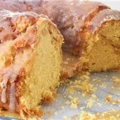 Great tasting glazed Bundt cake with Irish cream baked in. Excellent for any time or any occasion.