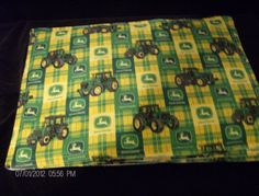 Placemats Set of 4 John Deere Tractor by SIMPLYHANDMADE24 on Etsy, $6.99