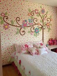 Resultado de imagen para decoracion paredes cuarto de niña