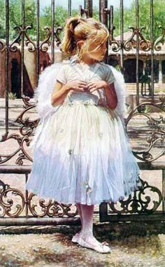"""""""Angel at the Gate"""" by Steve Hanks"""