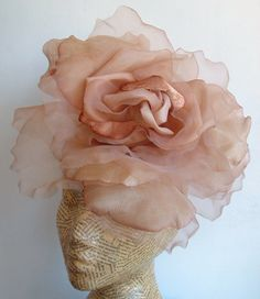 Extra Large Rose - Nude