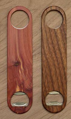 Custom Wood Bottle Openers - 20% off For Cyber Monday!
