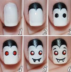 25+ Most Creative Halloween Nail Arts | NAILkART