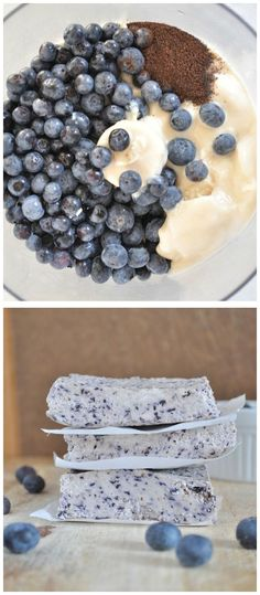 Blueberry Bliss Bars Recipe // i should make this with strawberries or something...not a big fan of blueberries.