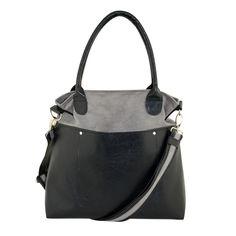 Fiell BAG - grigio e nero di INCAT su DaWanda.com