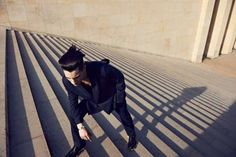 Architectural Menswear Editorials - The Nicolas Ripoll for Glamcult Shoot Has Movement and Shape (GALLERY)