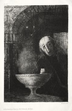 The Night: In Search of the Infinite, 1886  Odilon Redon (French, 1840-1916)