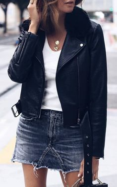 50 popular fall and winter outfits you need to try asap - fall outfits and Winter Outfits For School, Fall Fashion Outfits, Casual Summer Outfits, Fall Winter Outfits, New Outfits, Trendy Outfits, Autumn Fashion, Winter Skirt Outfit, Jeans