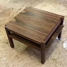 Interesting table design - table design ideas Interesting table design by wood crafts crafts design crafts diy crafts furniture crafts ideas Woodworking Ideas Table, Woodworking Projects That Sell, Diy Woodworking, Woodworking Magazine, Woodworking Videos, Woodworking Kitchen Table, Grizzly Woodworking, Woodworking Chisels, Wooden Pallet Projects