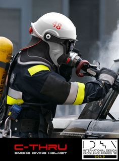 Swedish Super Helmet Helps Firefighters See Through Smoke | techayon