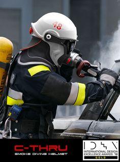 Swedish Super Helmet Helps Firefighters See Through Smoke | techayon